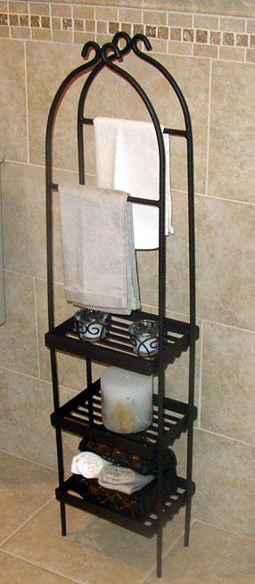 Deluxe Custom Towel Stand