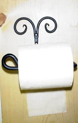 Split Curl Toilet Tissue Holder