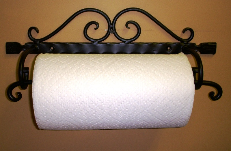 Old Fashioned Paper Towel Holder